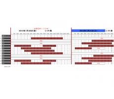 勤務シフト表のテンプレート(Excel・エクセル)
